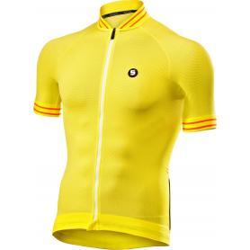 Camiseta manga corta ciclismo con cremallera