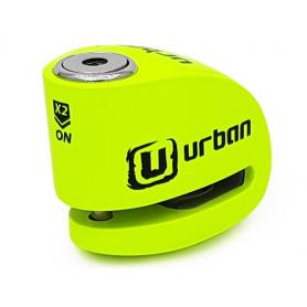 Disco alarma Urban Security Amarillo fluor