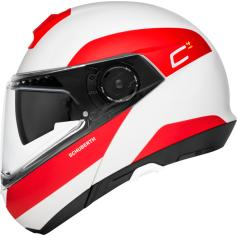 Casco Modular SCHUBERTH C4 PRO FRAGMENT Red