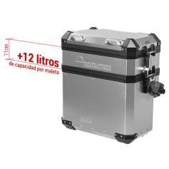 Ampliación de maleta Volume Booster para maleta de aluminio BMW original (conjunto de 2)