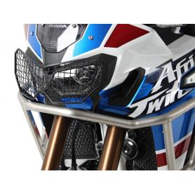 Protector de faro en negro para Honda África Twin Adventure Sports CRF1000L