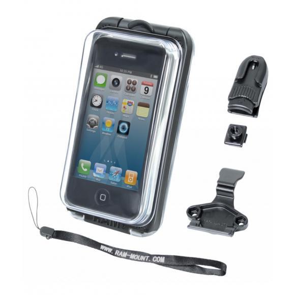 RAM Aqua Box® Pro 10 Case con accesorios.