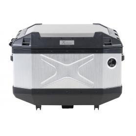 Top Case XPLORER Plata, capacidad 45L de Hepco-Becker.