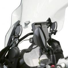 Kit estabilizador de parabrisas ZTechnik® de acero negro para BMW® R1200/1250 GS/GSA
