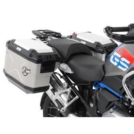 Soporte Fijo HEPCO & BECKER Negro de Maletas Laterales y maletas laterales de acero inoxidable BMW R 1250 GS LC (2019-)