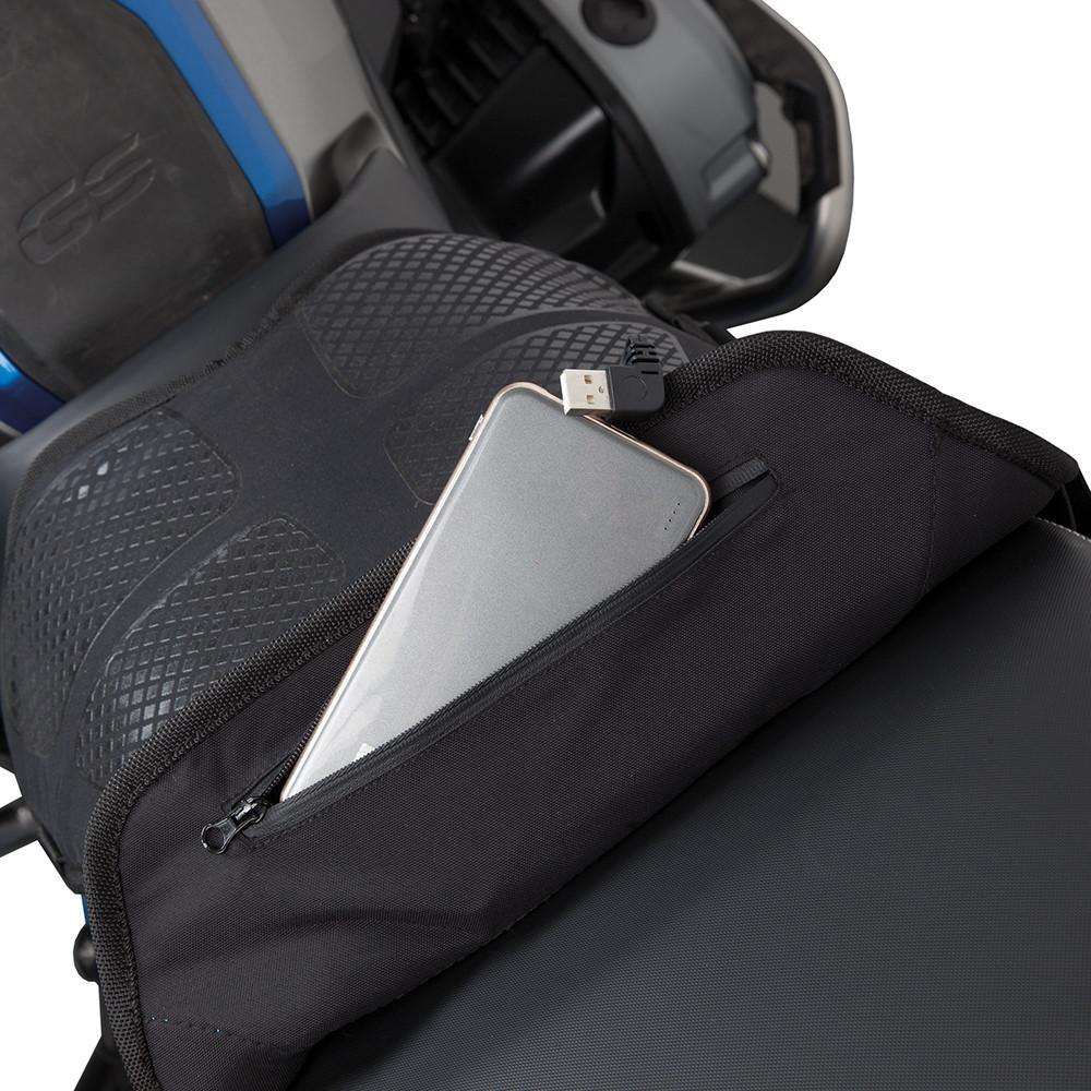 con Control de Interruptor 22-30 mm KKmoon Pu/ño Calefactable para Moto con Calefacci/ón USB,Fundas para Manillar de 7//8  a 11//5