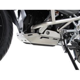 Placa de protección del motor plateada para BMW R1250GS Adventure (2019-) de Hepco&Becker