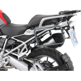 Portamaletas permanente antracita para BMW R1250GS Adventure (2019-) de Hepco&Becker