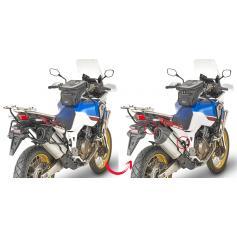 Portamaletas lateral de fijación rápida GIVI para Africa Twin CRF1000L (18-)