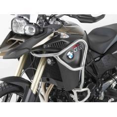 Barras de proteccion de deposito color plata para BMW F800GS ADV