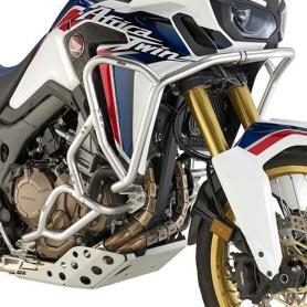 Defensas de motor tubular especifica en acero inoxidable para modelos Honda Africa Twin Adventure Sports CRF1000L