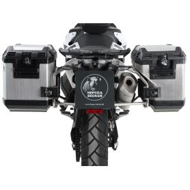 Soporte lateral de acero inoxidable, incluye maletas laterales Xplorer, para KTM 790 Adventure/ R (2019-)