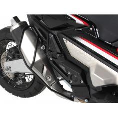 Guardabarros de escape en negro para Honda X-ADV (2017-) de Hepco & Becker