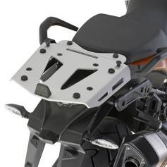 Adaptador de aluminio para baúl GIVI en KTM