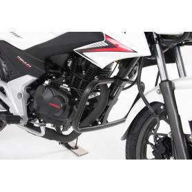 Defensa de motor en color negro para Honda CB 125 F desde 2015