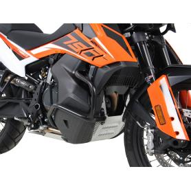 Defensas del motor en color negro para KTM 790 Adventure / R (2019-)