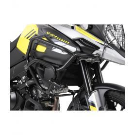 Defensas de motor tubular especifica, en color negro, para Honda CB 500 X (2019)
