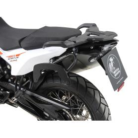 Soporte lateral estilo C-Bow en color negro para KTM 790 Adventure / R (2019-)