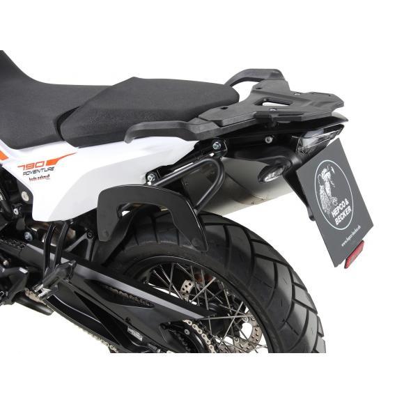 Soporte lateral estilo C-Bow en color negro para KTM 790 Adventure / R (2019-)