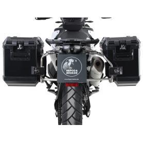 Soporte lateral de acero inoxidable, incluye maletas laterales Xplorer, para KTM 790 Adventure/ R (2019-)