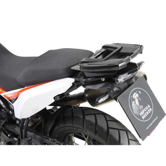 Soporte trasero estilo Easyrack en color negro para KTM 790 Adventure (2019-)