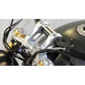Elevador para manillar con desplazamiento para BMW RnineT , RnineT Scrambler , Pure & Urban G / S de Hornig