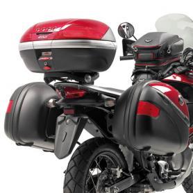 Adaptador posterior específico de maleta MONOKEY para Honda Transalp 700 XLV (2008-2013) de Givi