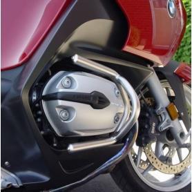 Estribo de protección de motor en acero inoxidable para BMW R1200ST de Hornig