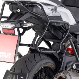 Portamaletas lateral de fijación rápida para maletas V35 Monokey SIDE para BMW S 1000 XR de Givi