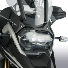 Protector de faros LED en policarbonato para BMW R1200GS / R1250GS / 1250GSA