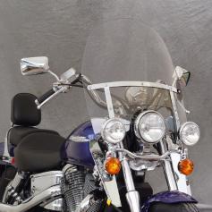 Cúpula Touring Heavy Duty con Revestimiento Quantum para Honda Shadow VT 1100C / VT 750