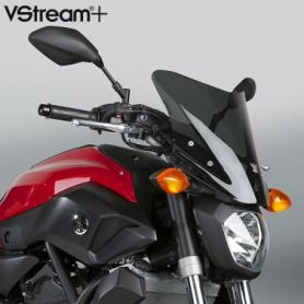 Pantalla VStream+® Sport gris oscuro tint. (95%) con revestimiento FMR para Yamaha® FZ-07