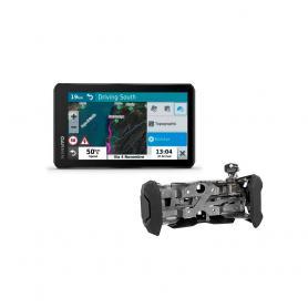 Pack GPS Garmin Zumo XT con soporte con cerradura de Touratech