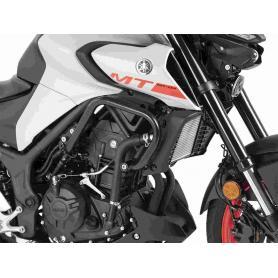 Estribo de protección del motor en negro para Yamaha MT-03 de Hepco&Becker