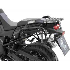 Portaequipajes lateral negro LOCK-IT para SUZUKI V-STROM 1050 (2020-) de Hepco-Becker
