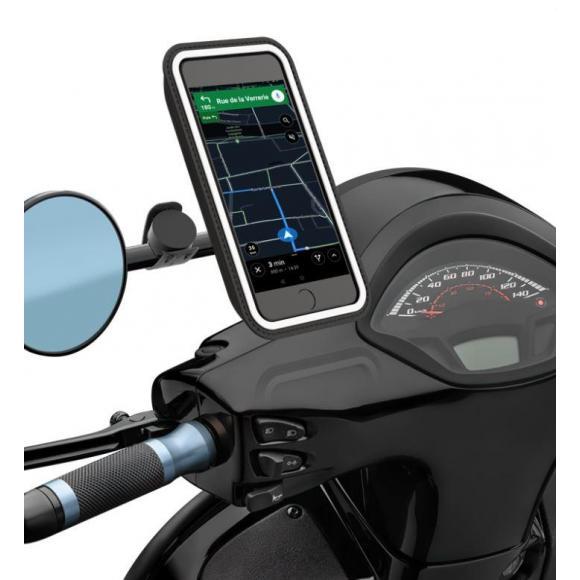 Soporte magnético smartphone universal Shapeheart para espejo