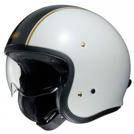 Casco Jet J.O CARBURETTOR TC6 Blanco de Shoei