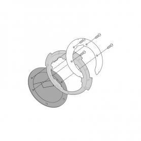 Kit adaptador metálico Givi bolsas depósito Tanlock para BMW R 1200 RT