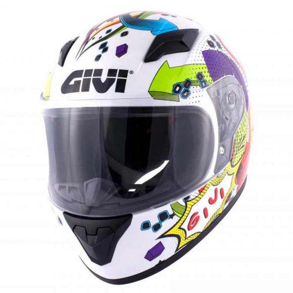 Casco Jet Junior 4 Solid Colour en Blanco de GIVI