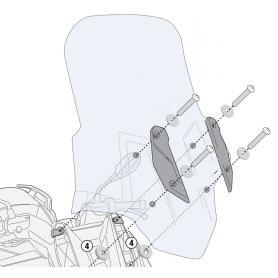 Kit anclaje cúpula Givi para BMW C400 GT