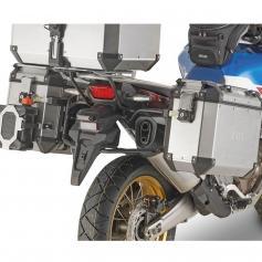 Portamaletas lateral para maletas Trekker Outback MONOKEY® CAM-SIDE de Givi para Ducati Multiestrada 950 y 1200