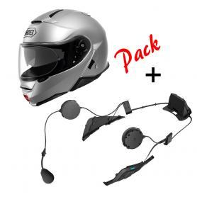 Pack Intercom - Casco Modular Shoei Neotec 2