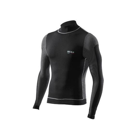 Camiseta Tecnica Manga Larga / Cuello Alto Windshell TS4 Carbon Underwear®