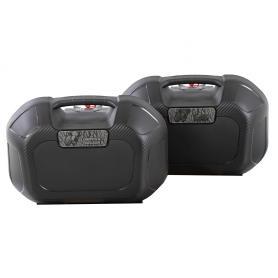 Juego de maletas laterales Orbit 22l negras para sistema C-Bow
