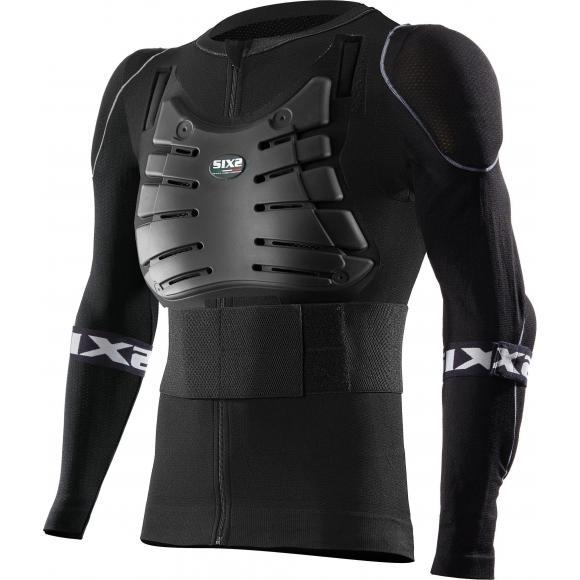Camiseta de mangas largas protectora con protecciones