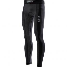 Mallas Largas con almohadilla Carbon Underwear® de SIXS - Carbono