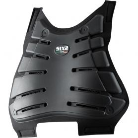 Protector de pecho CE de SIXS - Negro