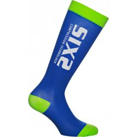 Calcetines ciclismo Compression Recovery Socks de SIXS - Azul
