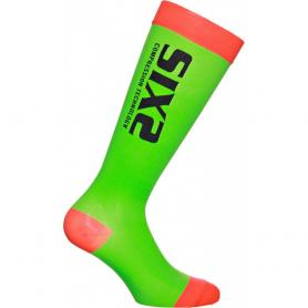 Calcetines ciclismo Compression Recovery Socks de SIXS - Verde