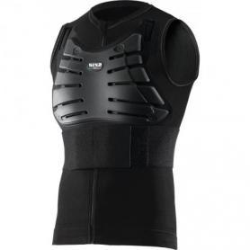 Camiseta sin mangas con protecciones - Negro